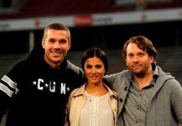 Lukas Podolski, Aylin Tezel als 'Aylin Denizoglu' und ...