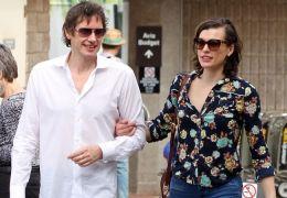 Milla Jovovich und Ehemann Paul Anderson