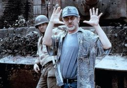 Der Soldat James Ryan mit Regisseur Steven Spielberg