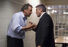 Tom Wilkinson und George Clooney in Michael Clayton