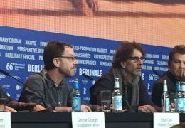 Ethan und Joel Coen auf der 'Hail, Caesar!'-Pressekonferenz