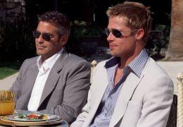 Ocean's Eleven mit George Clooney und Brad Pitt