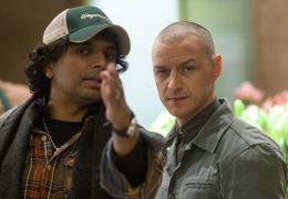 Split - Regisseur M. Night Shyamalan und James McAvoy