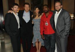 Das A-Team -Empfang im Hotel de Rome mit Sharlto...nahan