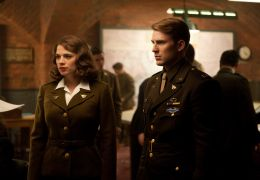 Captain America: The First Avenger - Left to right:...ogers