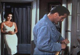 Elizabeth Taylor und Paul Newman in 'Die Katze auf...dach'