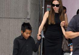 Angelina Jolie mit ihrem Sohn Pax