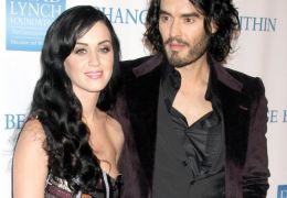 Katy Perry und Russell Brand
