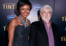 Mellody Hobson mit George Lucas