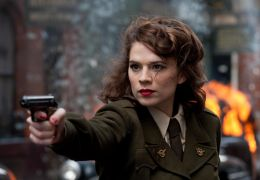 Hayley Atwell in 'Captain America'
