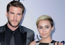Miley Cyrus mit Liam Hemsworth