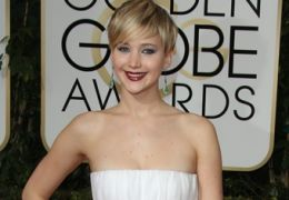 Jennifer Lawrence bei den Golden Globes 2014
