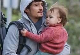 Orlando Bloom mit seinem Sohn Flynn