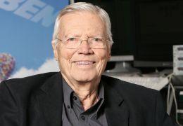 Karlheinz Böhm spricht Charles Muntz in 'OBEN' München