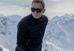 Daniel Craig bei den Spectre-Dreharbeiten in Sölden