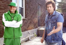 Vanilla Ice und Adam Sandler in Der Chaos-Dad