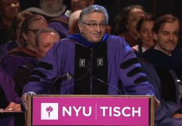 Robert De Niro an der New York University