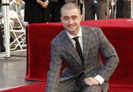 Daniel Radcliffe bei der Enthüllung seines Sternes