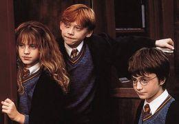 Emma Watson, Rupert Grint und Daniel Radcliffe in...eisen