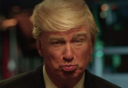 Alec Baldwin als Donald Trump in Saturday Night Live
