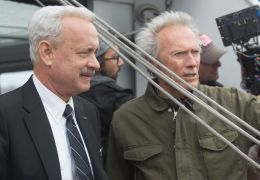 Sully mit Tom Hanks und Regisseur Clint Eastwood