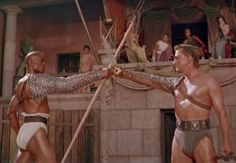 Spartacus mit Woody Strode und Kirk Douglas