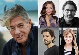 Berlinale 2017 Wettbewerbsjury mit dem Vorsitzenden...Luna