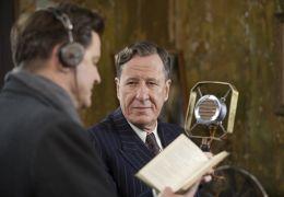 The King's Speech - Bertie (Colin Firth) und Lionel...rbeit