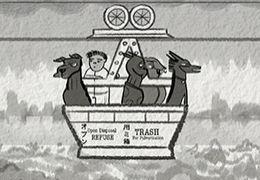 Storyboard von Jay Clarke zu Wes Anderson's Isle of Dogs