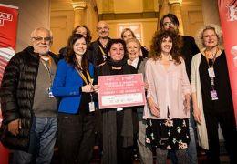 Eurimages Co-Production Development Award mit vorne:...Jury)