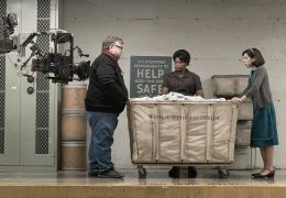 Guillermo del Toro, Sally Hawkins und Octavia Spencer...Water