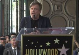 Mark Hamill bei seiner Dankesrede auf dem Hollywood...evard