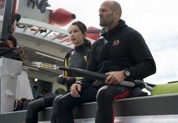 The Meg - Li Bingbing und Jason Statham