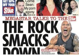 Daily Star mit angeblichem Interview mit Dwayne Johnson