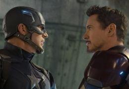 The First Avenger: Civil War - Chris Evans und Robert...y Jr.