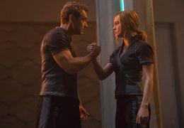 Captain Marvel - Jude Law und Brie Larson