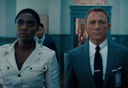 No Time to Die - Lashana Lynch, Daniel Craig und...Harris