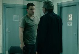 Das Bourne Ultimatum - Matt Damon und Albert Finney