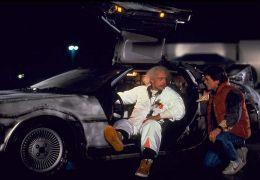 Zurück in die Zukunft - Christopher Lloyd und Michael.... Fox
