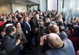 Über 300 Gäste kamen, um Christopher Lee live zu erleben