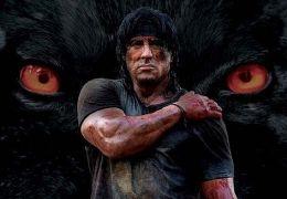 Teaser-Plakat für das 5. 'Rambo'-Actionabenteuer