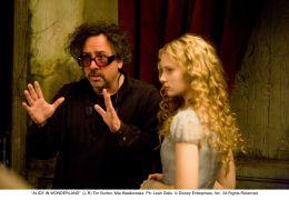 Alice im Wunderland - Regisseur Tim Burton im...owska