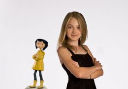 Dakota Fanning voices the character of Coraline in...Jones