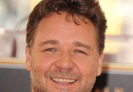 Russell Crowe Star Ceremony auf dem Walk of Fame