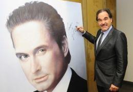 Oliver Stone signierte Gordon Gekko Gemälde