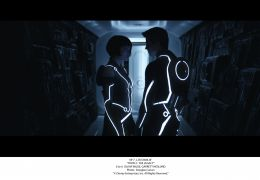 Olivia Wilde und Garrett Hedlund in 'Tron: Legacy'