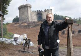 RIDLEY SCOTT am Set von 'Robin Hood'