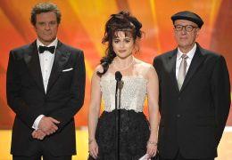 Colin Firth, Helena Bonham Carter und Geoffrey Rush,...2011