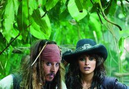 Johnny Depp mit Penélope Cruz