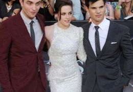 'Twilight'-Darsteller Robert Pattinson, Kirsten...utner